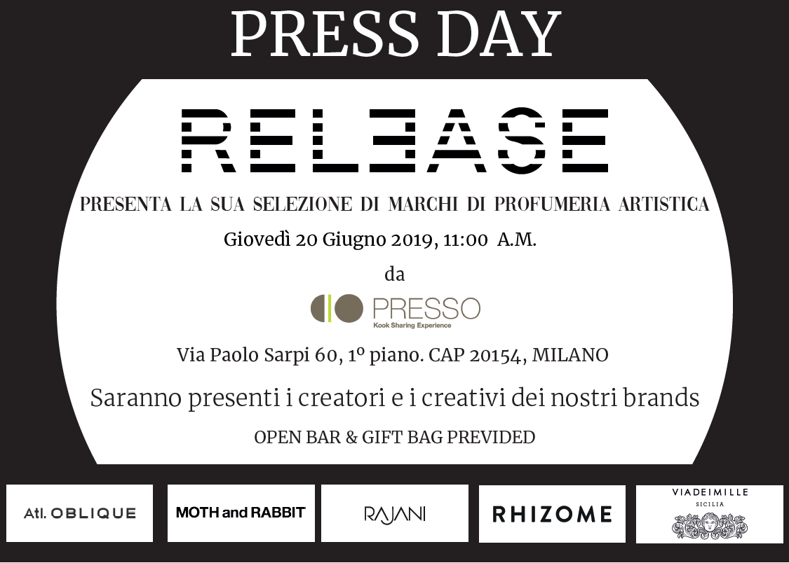 Press Day – Milano – c/o Presso – 28 June 2019