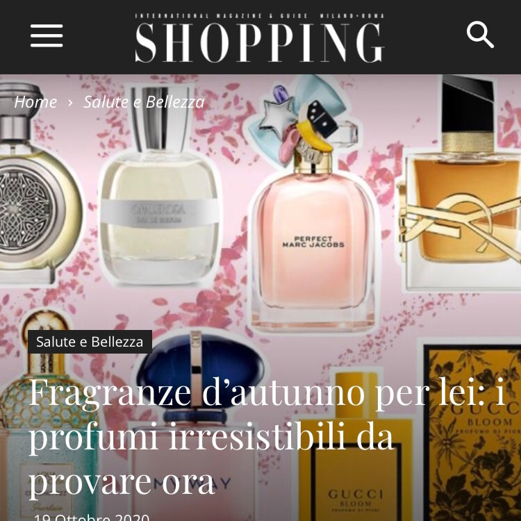 SHOPPING MILANO ROMA – October 2020
