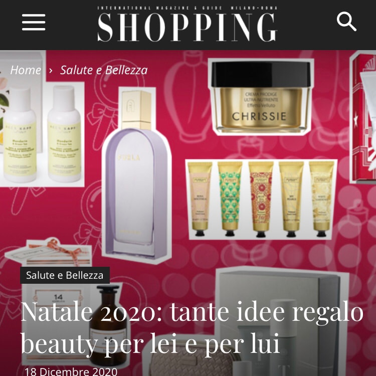 SHOPPING MILANO ROMA – December 2020