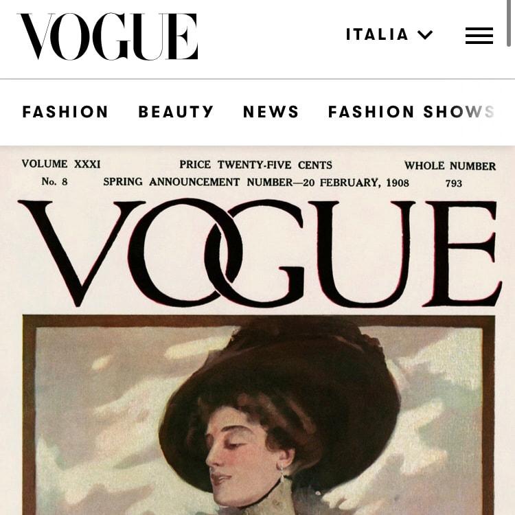 VOGUE ITALIA – October 2020