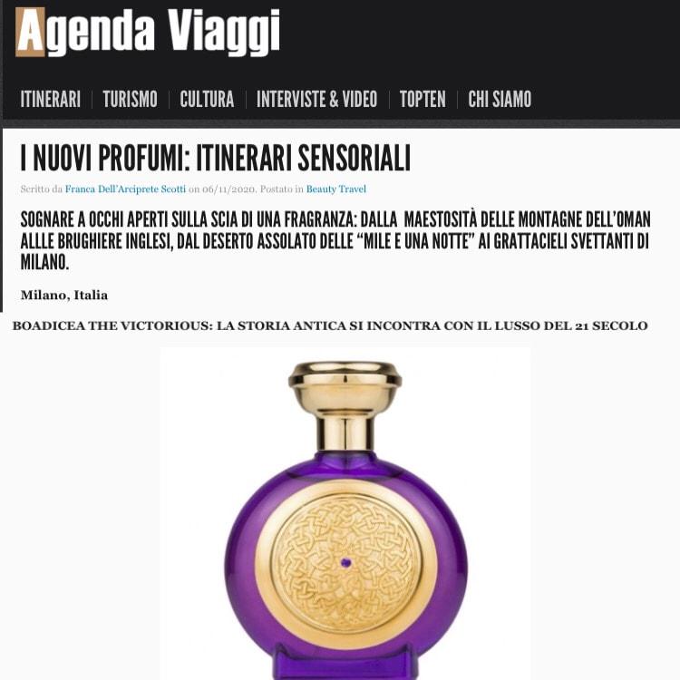 AGENDA VIAGGI – November 2020