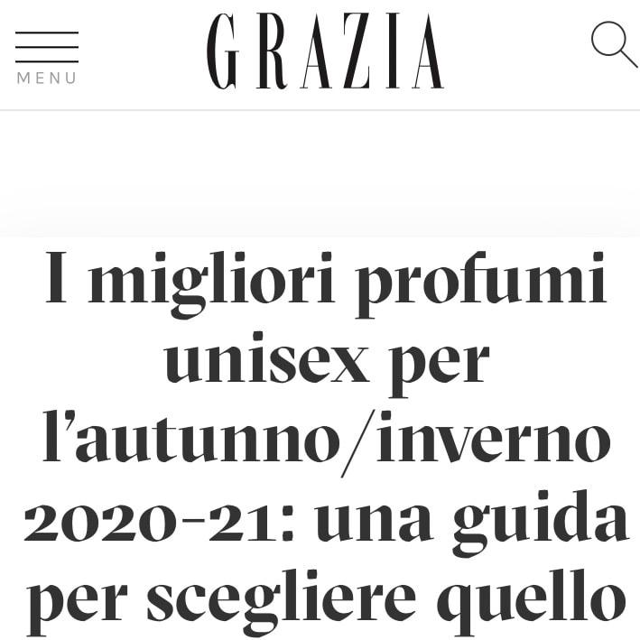GRAZIA – November 2020