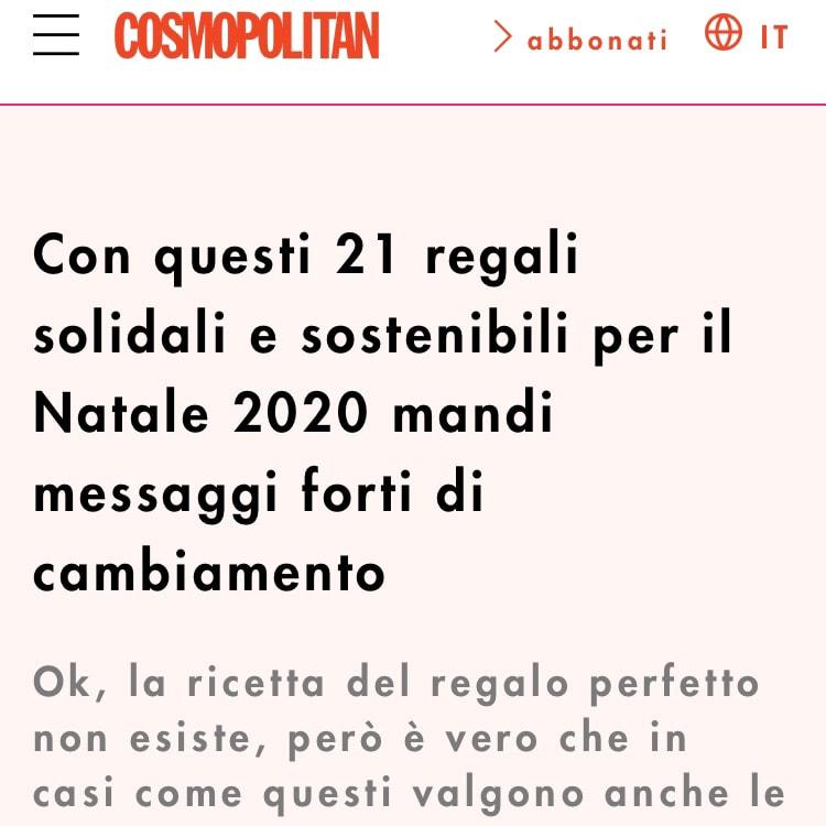 COSMOPOLITAN – November 2020