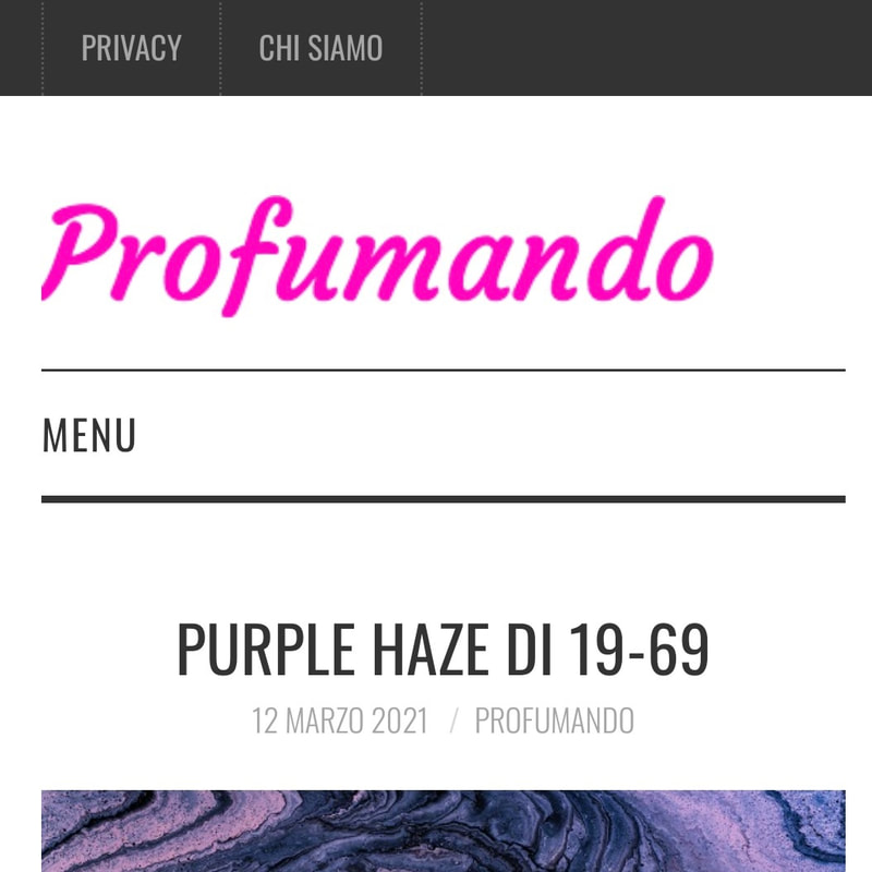 PROFUMANDO – March 2021